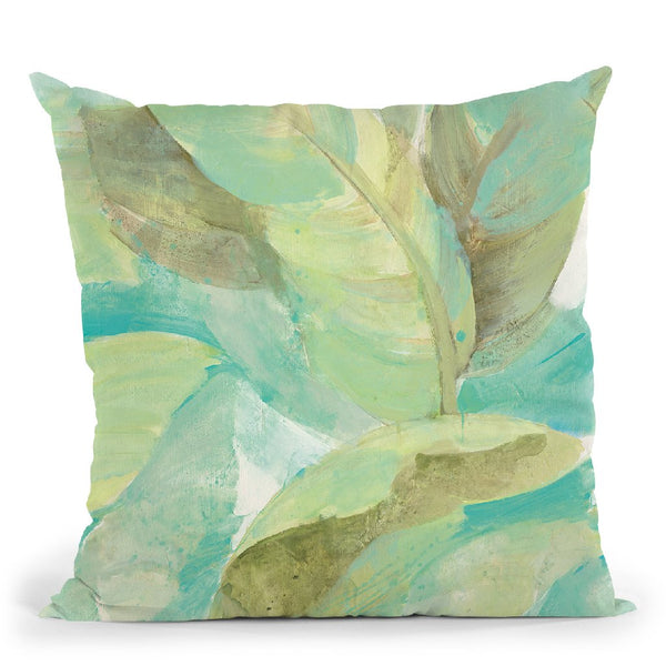 Under The Palms Ii Throw Pillow By Albena Hristova