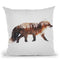 Arctic Red Fox Throw Pillow By Andreas Lie