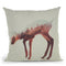 The Deer Norwegian Woods Throw Pillow By Andreas Lie
