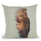 The Owl Norwegian Woods Throw Pillow By Andreas Lie