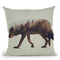 The Wolf Norwegian Woods Throw Pillow By Andreas Lie