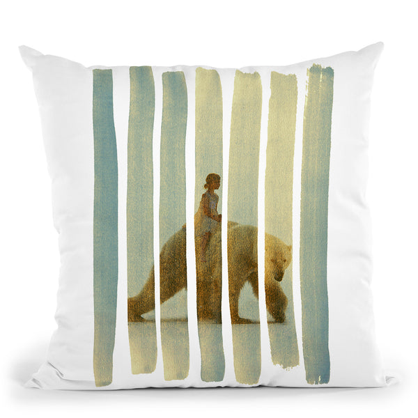 Ride Throw Pillow By Andreas Lie