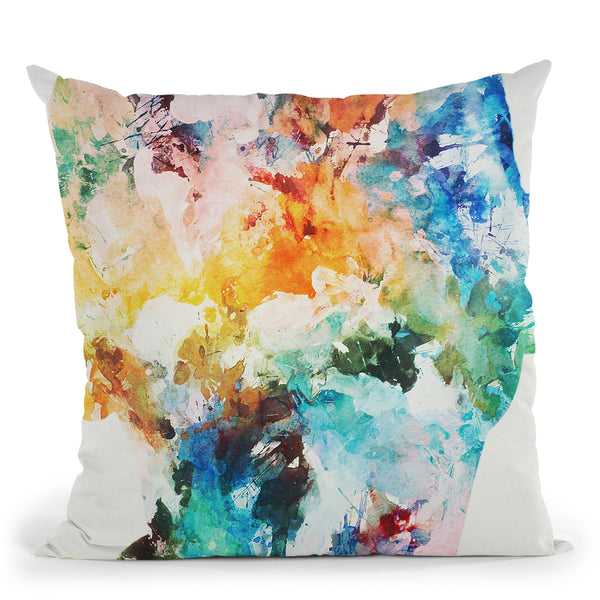 Soft Focus Throw Pillow By Andreas Lie