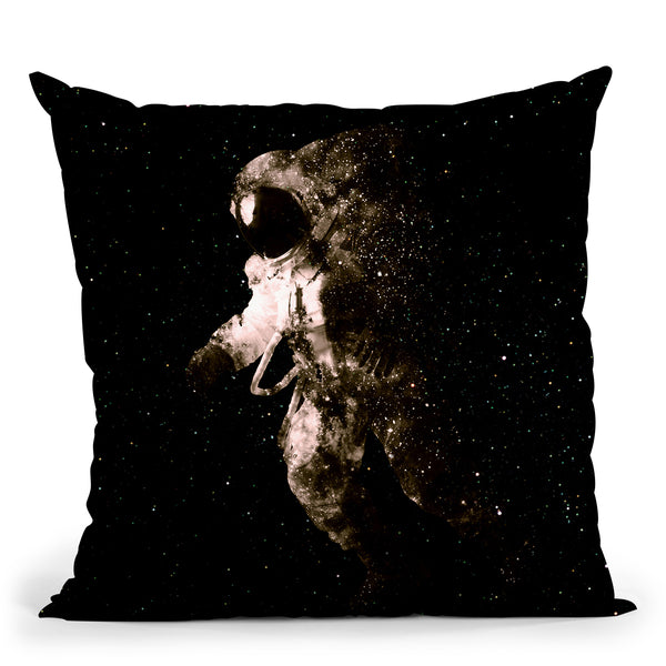 Space Walk Throw Pillow By Andreas Lie