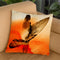Surfers Morning Throw Pillow By Andreas Lie