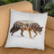 Arctic Wolf Throw Pillow By Andreas Lie
