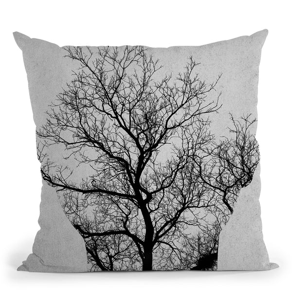 Tree Of Life Andreas Lie Throw Pillow By Andreas Lie