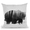 Watched By Grizzly Bear Throw Pillow By Andreas Lie