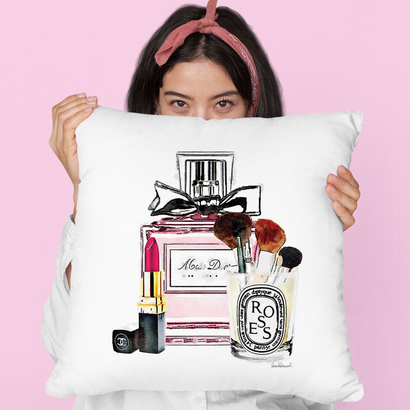 My Favorite Things Throw Pillow By Amanda Greenwood