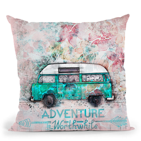 Adventure Throw Pillow By Andrea Haase