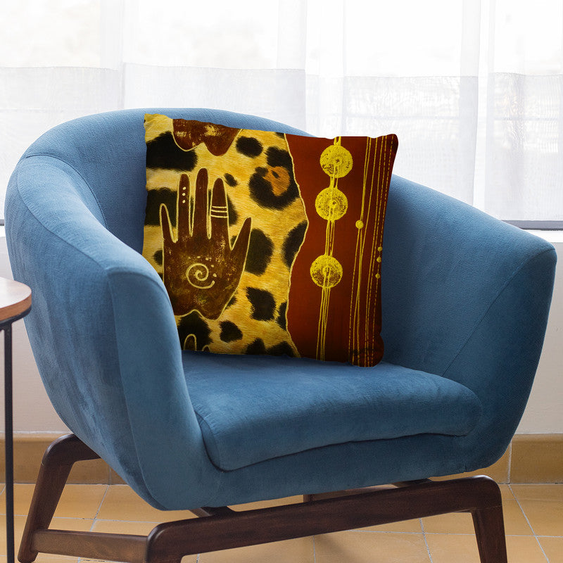 Africa Artwork Throw Pillow By Andrea Haase