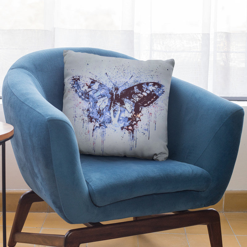 Artsy Butterfly Iii Throw Pillow By Andrea Haase