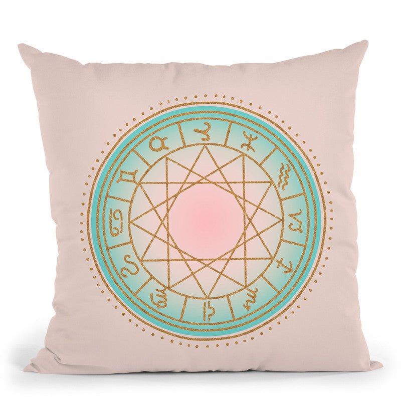 Astrology Throw Pillow By Andrea Haase