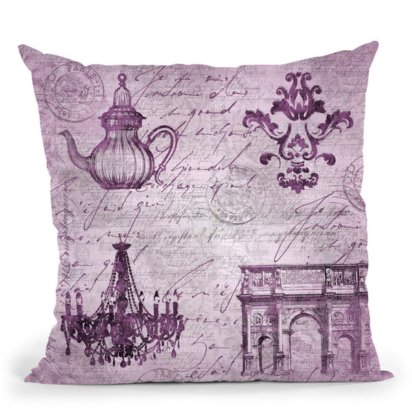 Baroque I Throw Pillow By Andrea Haase