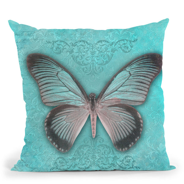 Beautiful Butterfly Throw Pillow By Andrea Haase