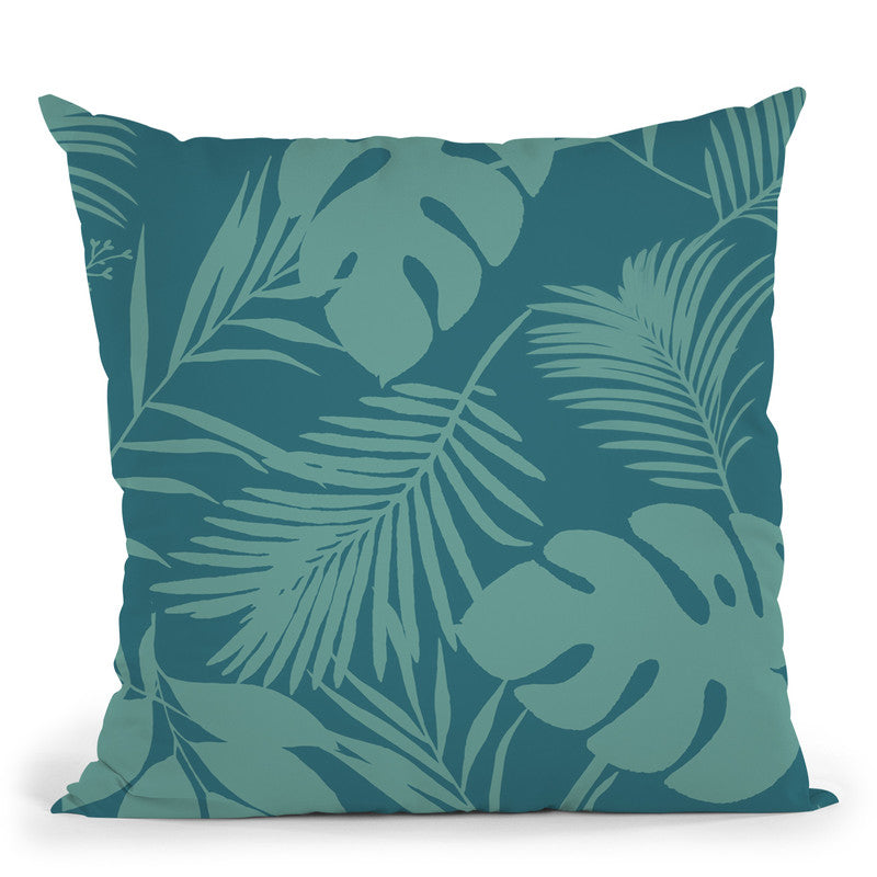 Birds Of Paradise I Throw Pillow By Andrea Haase
