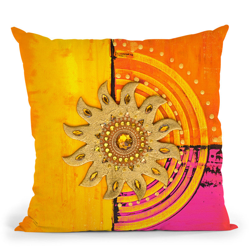 Bright Sunlight Throw Pillow By Andrea Haase