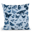 Butterfly Seamless Ii Throw Pillow By Andrea Haase