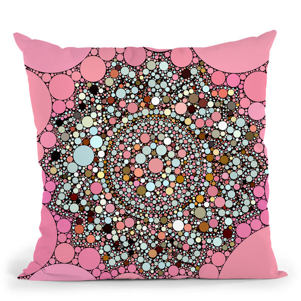 Dot Art Mandala Throw Pillow By Andrea Haase