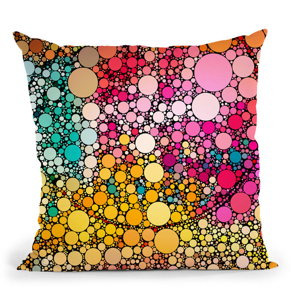 Dots Throw Pillow By Andrea Haase