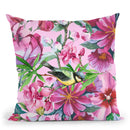Floral Watercolor Halfdrop Throw Pillow By Andrea Haase