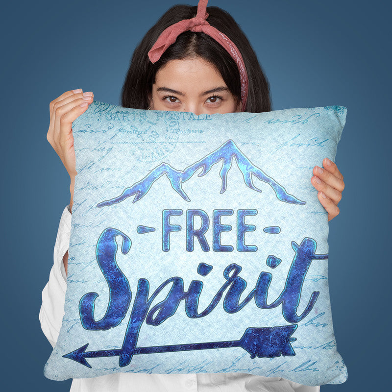 Free Spirit Throw Pillow By Andrea Haase