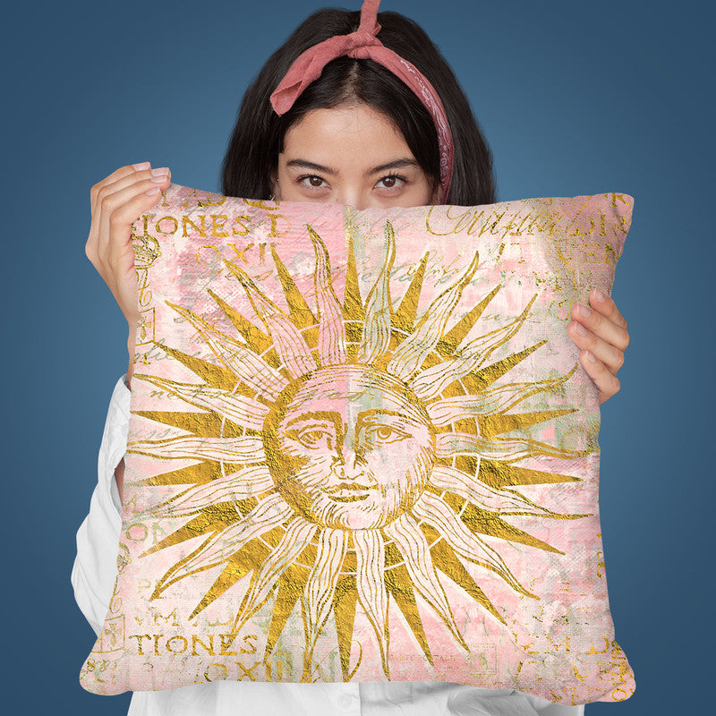 Goldenn Sun Throw Pillow By Andrea Haase