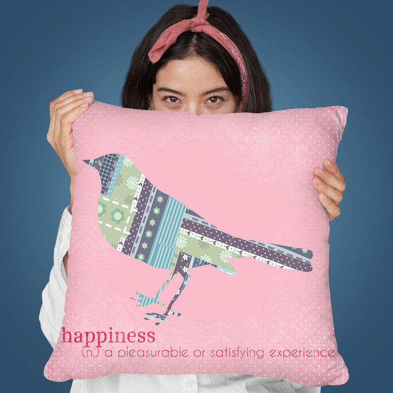 Happiness Throw Pillow By Andrea Haase