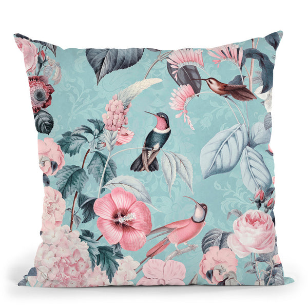 Im Paradies Hummingbird Iii Throw Pillow By Andrea Haase