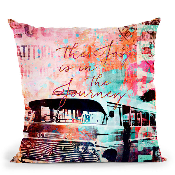 Journey Throw Pillow By Andrea Haase