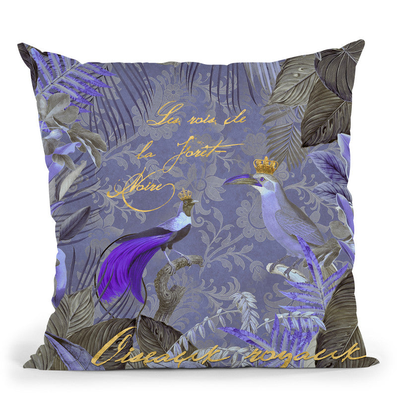 Kings Of The Jungle Throw Pillow By Andrea Haase