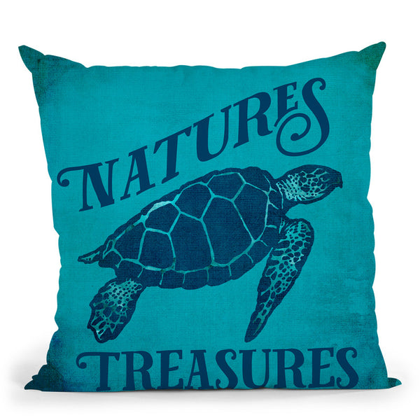 Nature'S Treasures Throw Pillow By Andrea Haase