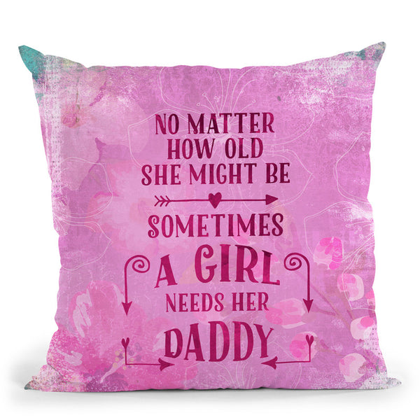 No Matter How Old Mom Throw Pillow By Andrea Haase