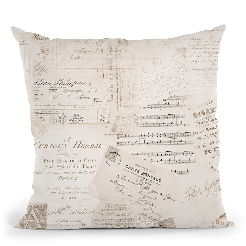 Nostalgic Kitsch Throw Pillow By Andrea Haase