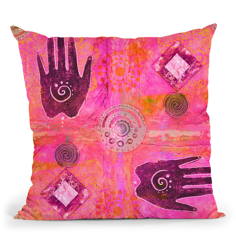 Oriental Ii Throw Pillow By Andrea Haase