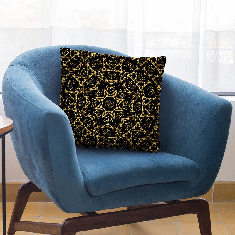 Oriental Ornament Gold Ii Throw Pillow By Andrea Haase