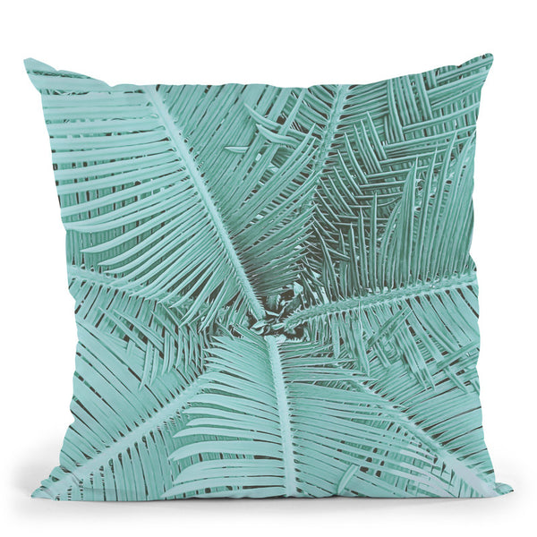 Palm I Throw Pillow By Andrea Haase