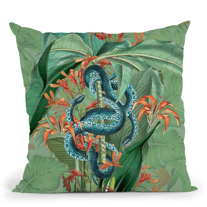 Paradise Lost Throw Pillow By Andrea Haase
