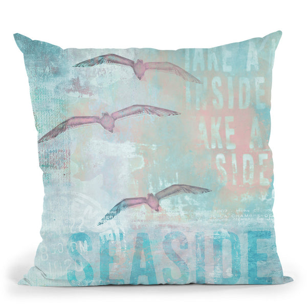 Seaside Throw Pillow By Andrea Haase