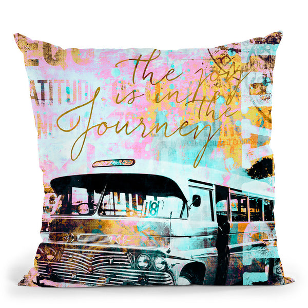 Travel I Throw Pillow By Andrea Haase