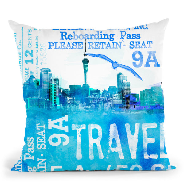 Travel Throw Pillow By Andrea Haase