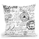 Vintage White Throw Pillow By Andrea Haase
