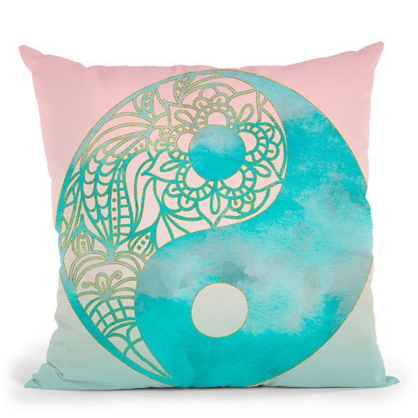 Yin Yang Throw Pillow By Andrea Haase