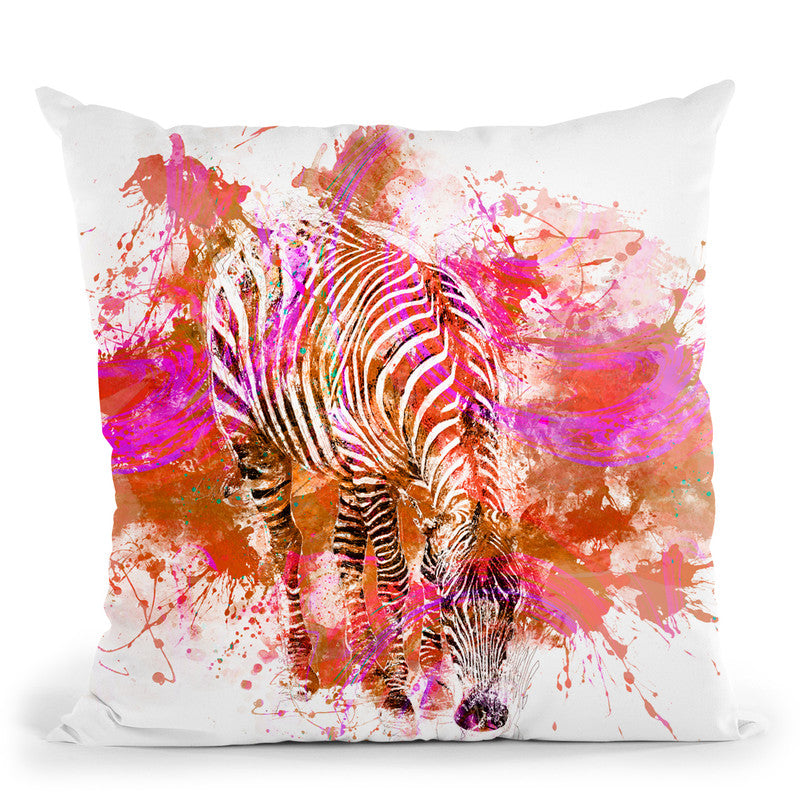 Zebra I Throw Pillow By Andrea Haase