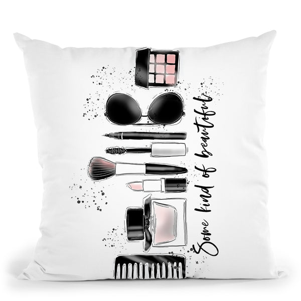 Some Kind Of Beautiful Throw Pillow By Alison Gordon