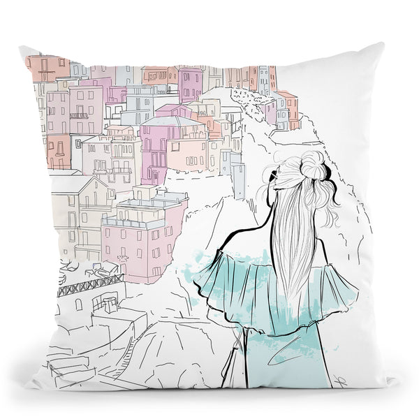 Ciaobella Throw Pillow By Alison Gordon