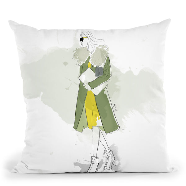 The Olivia Throw Pillow By Alison Gordon