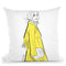 The Rachel Throw Pillow By Alison Gordon