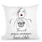 Thrive With Passion Throw Pillow By Alison Gordon