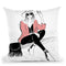 When In Rome Throw Pillow By Alison Gordon